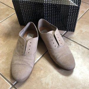 Faux suede men's wear shoes